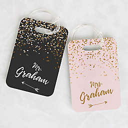 Sparkling Love Luggage Tags (Set of 2)