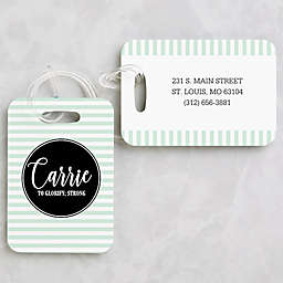 Patterned Name Meaning Luggage Tags (Set of 2)