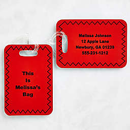 You Name It Luggage Tags (Set of 2)