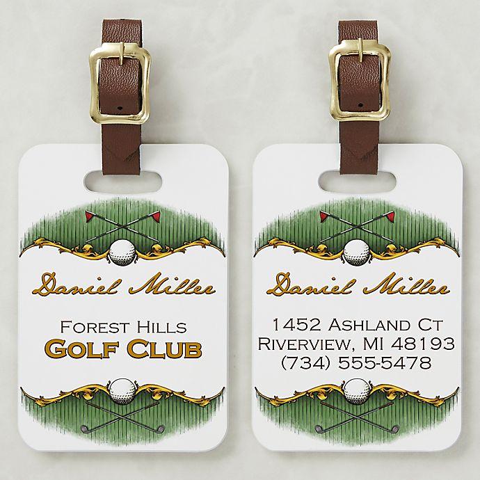 Alternate image 1 for Golf Course Bag Tag
