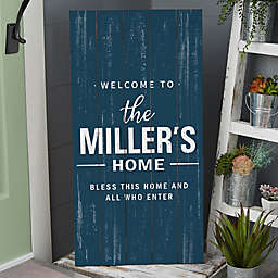 Farmhouse Family Standing Wood Sign