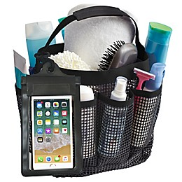 Mesh Shower Tote in Black