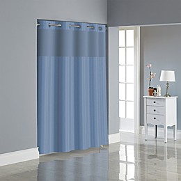 Hookless® Victorian Satin Stripe Shower Curtain