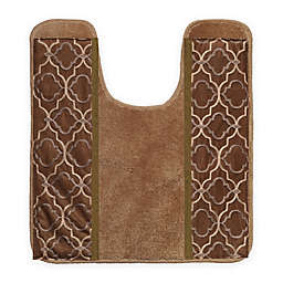 "Popular Bath Spindle 21"" x 24"" Contour Bath Rug"
