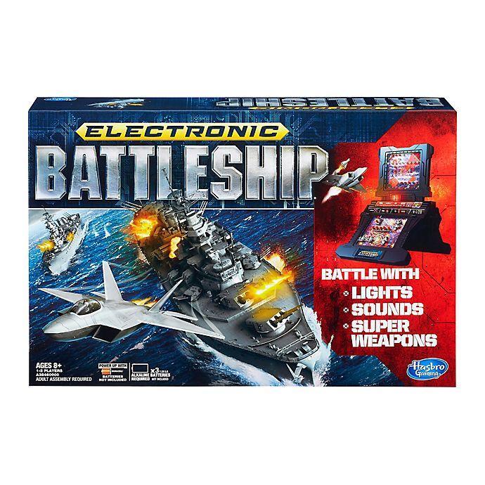 Alternate image 1 for Hasbro Electronic Battleship Strategy Game