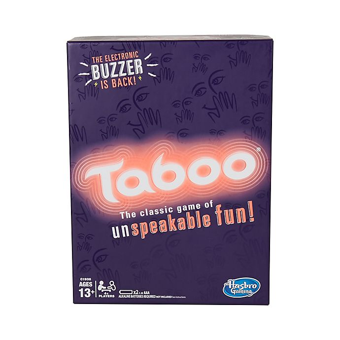 Alternate image 1 for Hasbro Taboo Party Game