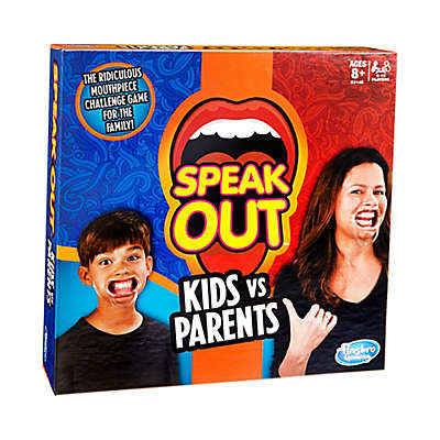 Hasbro Speak Out - Kids vs Parents Family Game