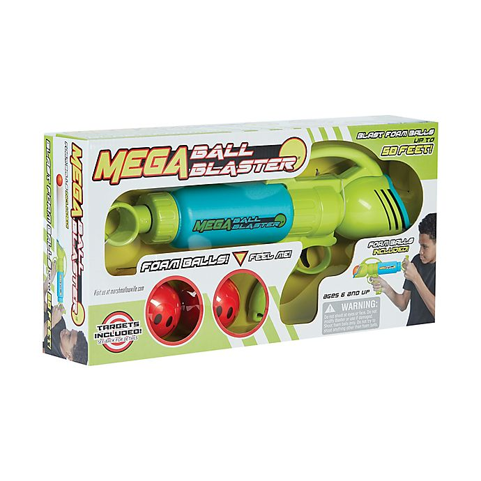 Alternate image 1 for Marshmallow Fun Company Mega Ball Blaster Foam Ball Shooter