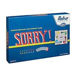 Hasbro Retro Series Sorry! - 1958 Edition Board Game