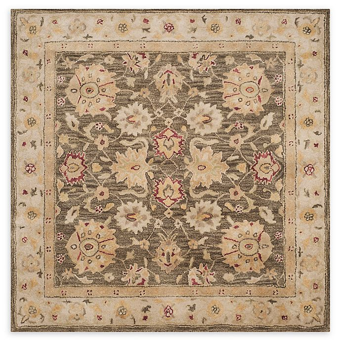 Alternate image 1 for Safavieh Aurora 6' Square Handcrafted Rug in Olive Green