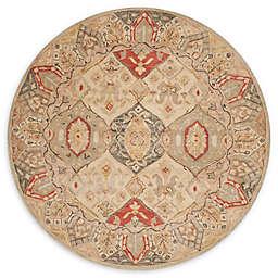 Safavieh Antiquity Elena 6' Round Area Rug in Beige