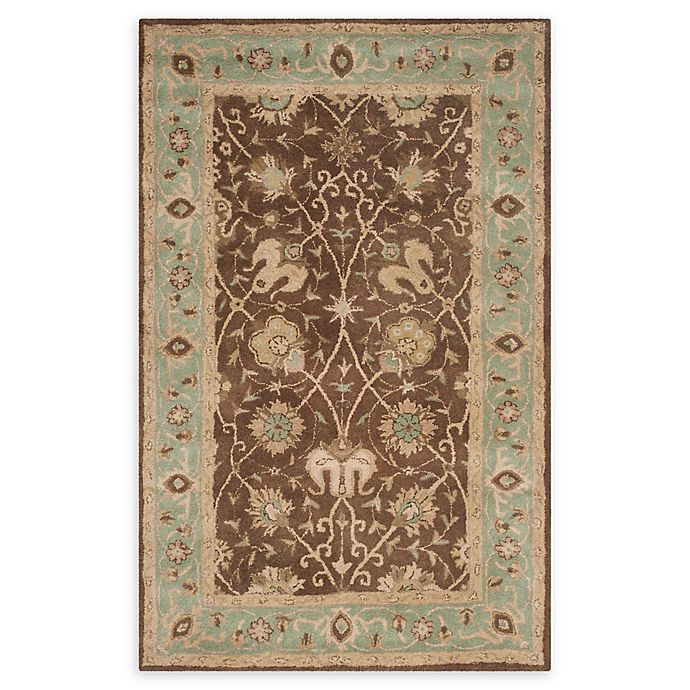 Alternate image 1 for Safavieh Antiquity Brielle 4' x 6' Handcrafted Area Rug in Brown