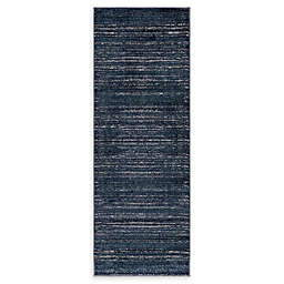 Jill Zarin Uptown 2' 2 x 6' Runner in Navy/Blue
