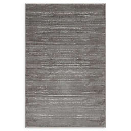 Jill Zarin Madison Avenue Uptown Power-Loomed Rug in Grey