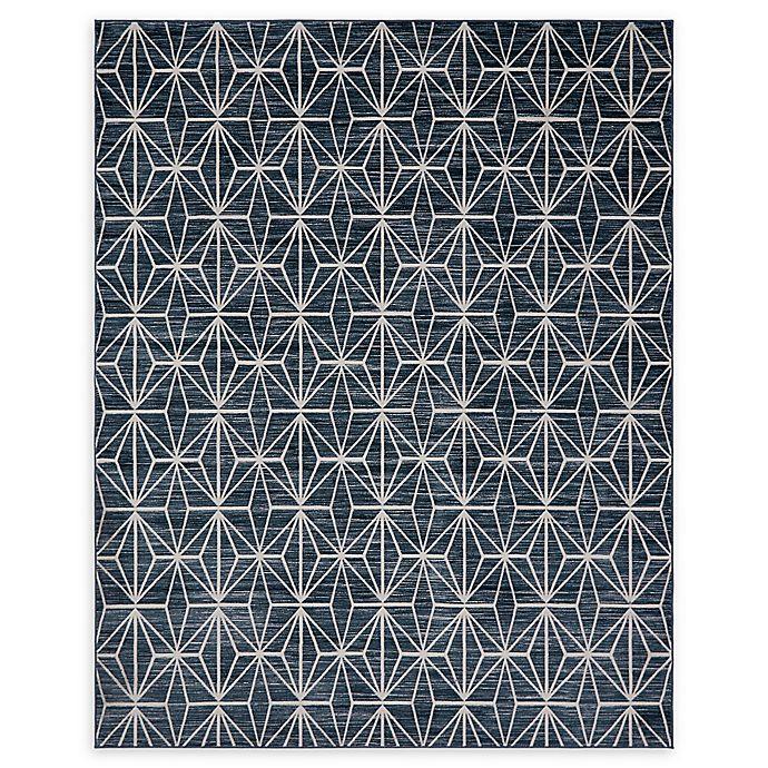 Alternate image 1 for Jill Zarin Fifth Avenue 8' x 10' Area Rug in Navy Blue