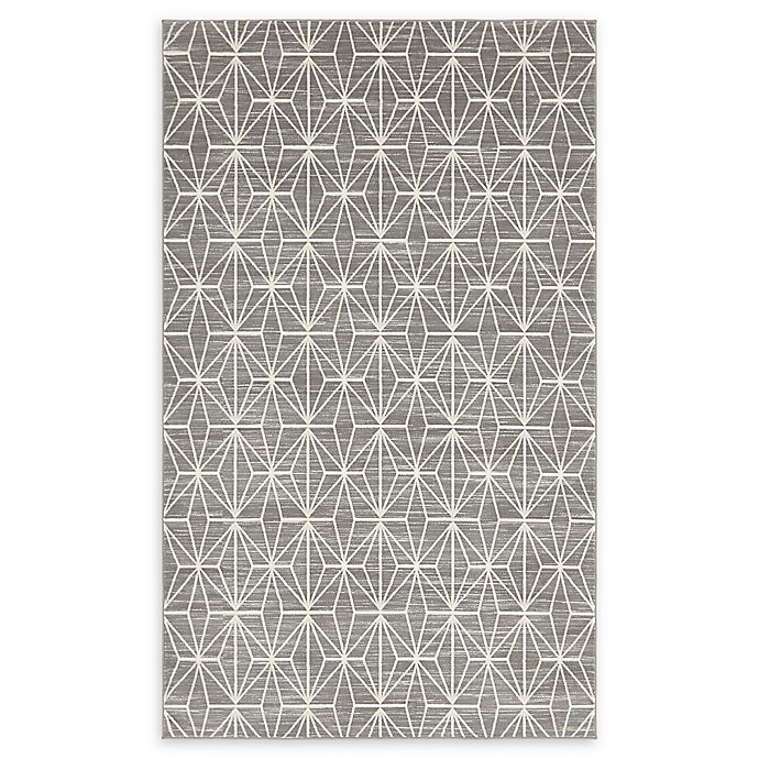 Alternate image 1 for Jill Zarin Fifth Ave 5' x 8' Area Rug in Grey