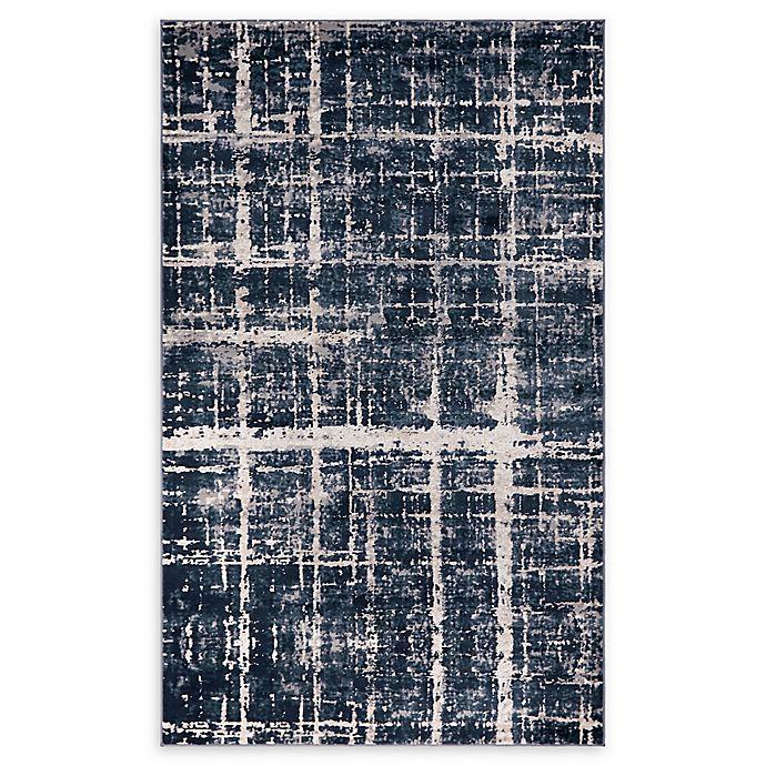Alternate image 1 for Jill Zarin™ Uptown Lexington Ave 5' x 8' Area Rug in Navy/Blue
