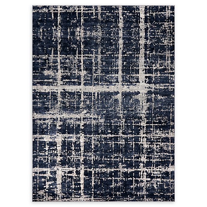 Alternate image 1 for Jill Zarin™ Uptown Lexington Ave 8' x 10' Area Rug in Navy/Blue
