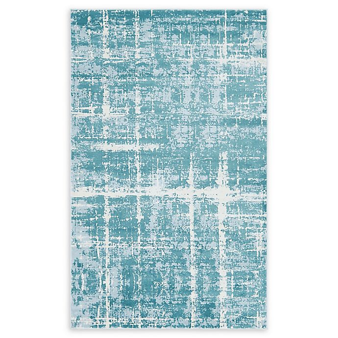 Alternate image 1 for Jill Zarin™ Uptown Lexington Ave 5' x 8' Area Rug in Turquoise