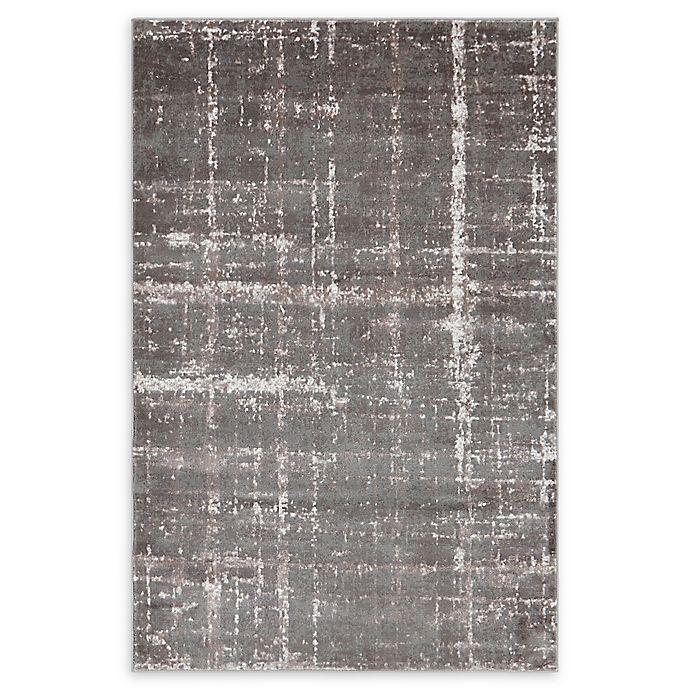 Alternate image 1 for Jill Zarin™ Uptown Lexington Ave 4' x 6' Area Rug in Grey