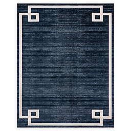 Jill Zarin Lenox Hill Uptown 8' x 10' Power-Loomed Area Rug in Navy/Blue