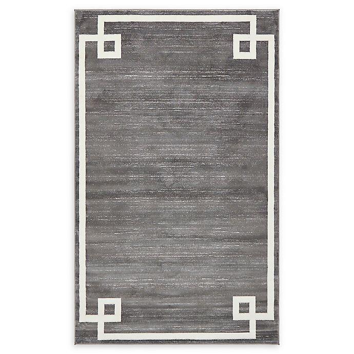 Alternate image 1 for Jill Zarin Uptown 5' x 8' Power-Loomed Area Rug in Grey