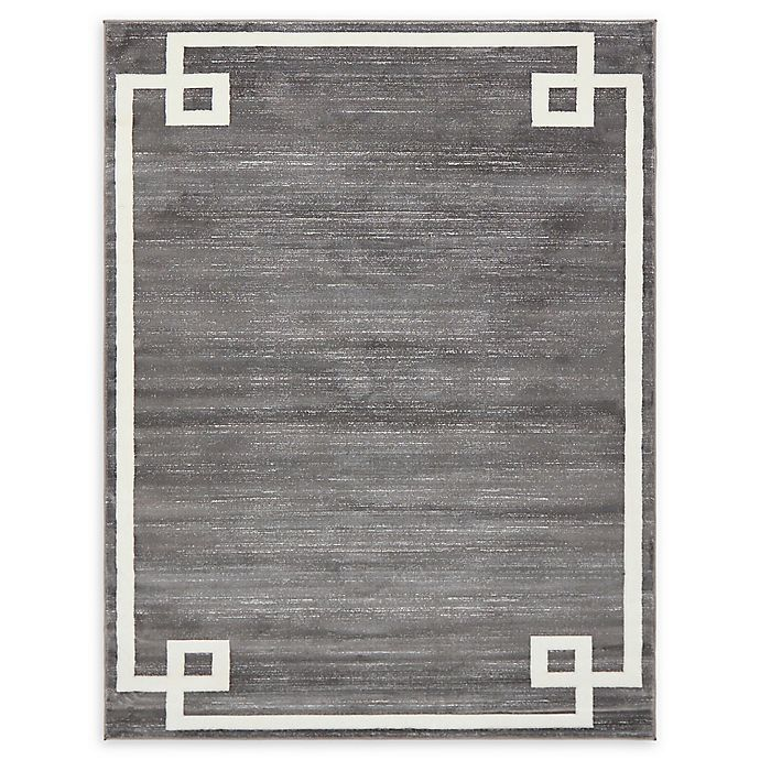 Alternate image 1 for Jill Zarin Uptown 8' x 10' Power-Loomed Area Rug in Grey