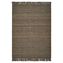 Hang Ten Palm Beach Bondi 8'6 x 11'6 Woven Area Rug in Slate