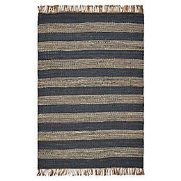 Hang Ten Palm Beach Horizons 8'6 x 11'6 Woven Area Rug in Navy
