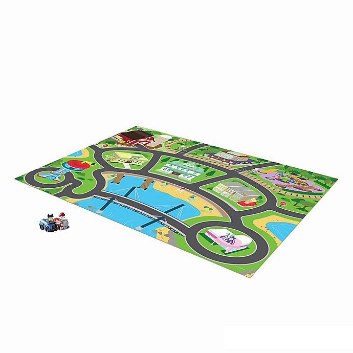 Mega Mat Paw Patrol Play Rug With Vehicle Toys Bed Bath