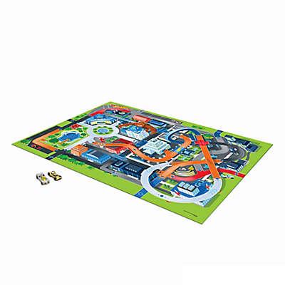 Hot Wheels™ Jumbo Mega Mat™ Play Rug with Vehicle Toys