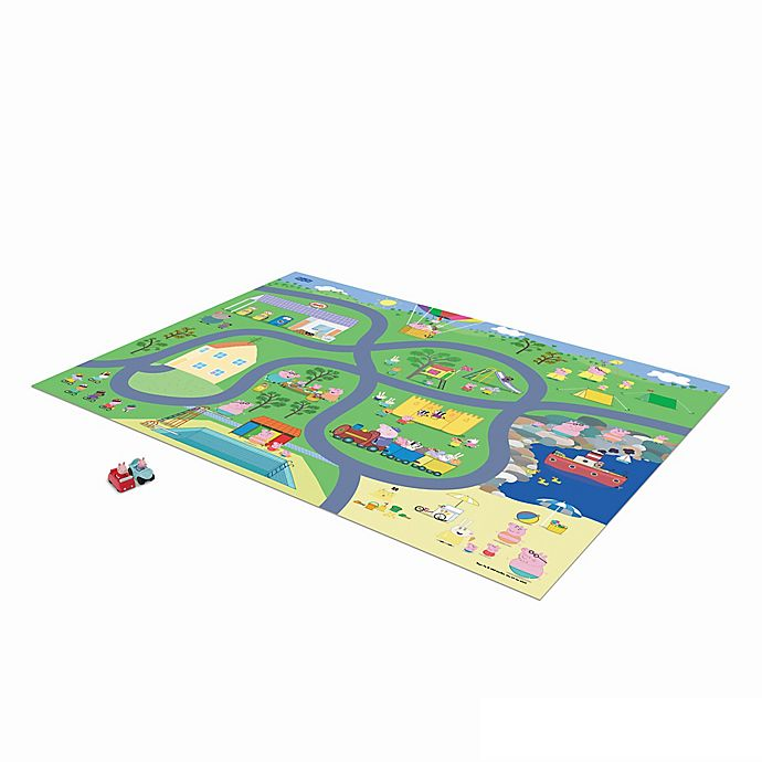 Alternate image 1 for Mega Mat™ Peppa Pig™ Play Rug with Character Toys