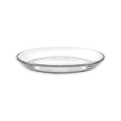 Duralex Lys Club Clear Tempered Glass Appetizer Plates (Set of 4)