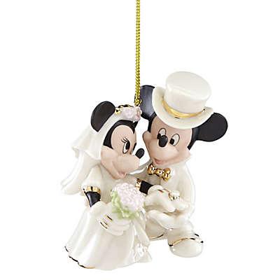 Lenox® Disney® Mickey and Minnie Wedding Christmas Ornament