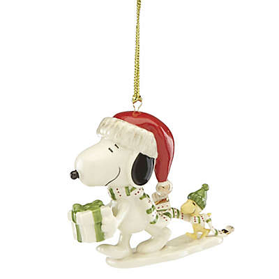 Lenox® Snoopy Gift Christmas Ornament