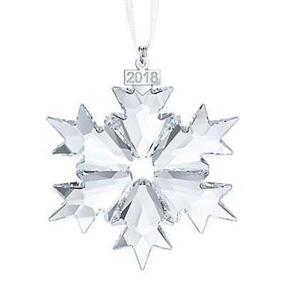 Swarovski® 2018 Annual Snowflake Christmas Ornament