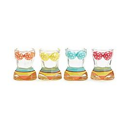 Bathing Beauties Bikini Shot Glasses (Set of 4)