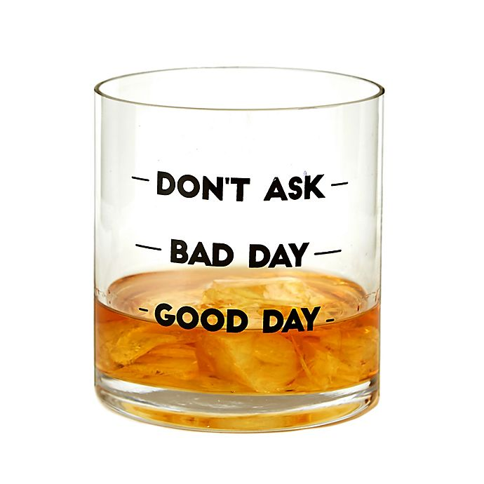 Alternate image 1 for Dont' Ask Double Old Fashioned Glass