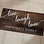 Live, Laugh, Love 24-Inch x 48-Inch Kitchen Mat