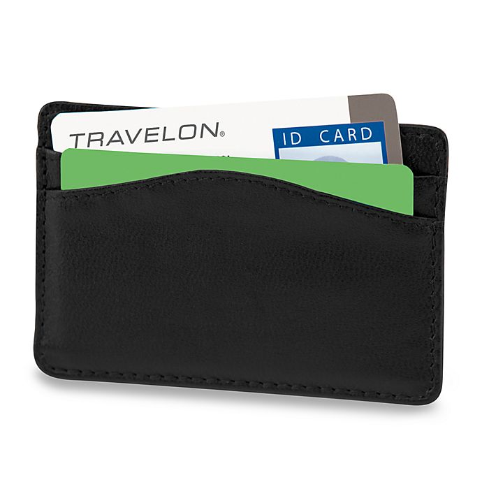Alternate image 1 for Travelon RFID-Blocking Card Sleeve