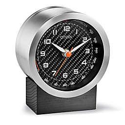 Citizen Workplace Round Silver-Tone Desk Clock