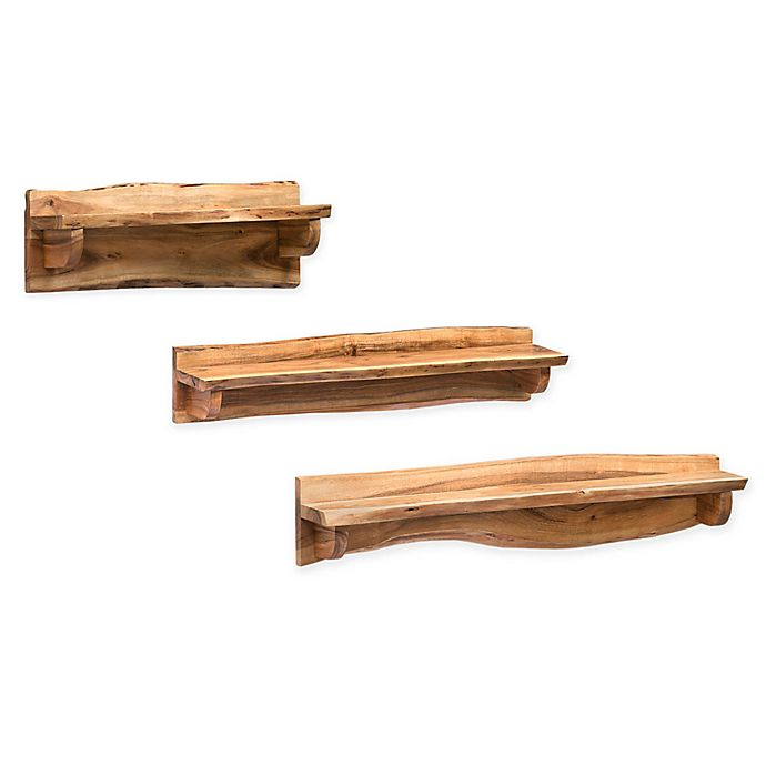 Alternate image 1 for Alterre Furniture™ Alpine Live Natual Wood/metal Art Ledge in Natural