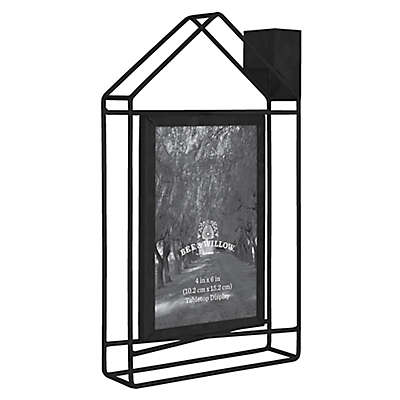 Bee & Willow™ Home 4-Inch x 6-Inch Metal House Picture Frame
