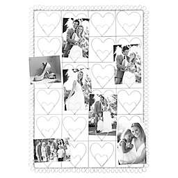 Industries 24-Photo Collage Clip Heart Picture Frame