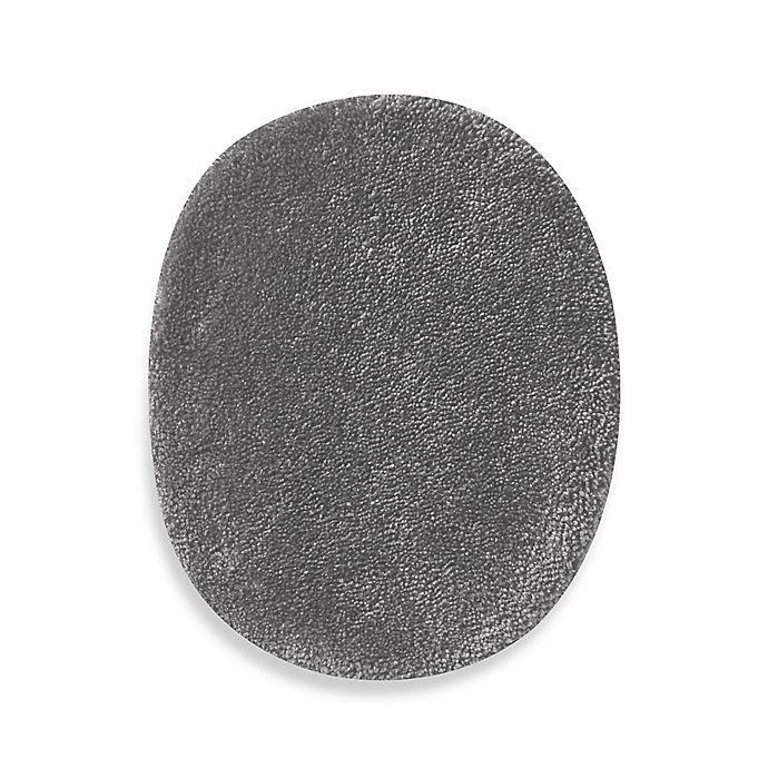 Alternate image 1 for Wamsutta® Duet Universal Toilet Lid Cover in Pewter