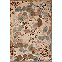 Surya Paramount Floral Rug in Beige/Sage