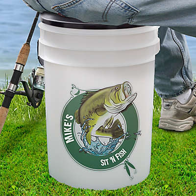 Sit 'N Fish 19 Qt. Bucket Cooler
