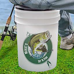 Sit 'N Fish 19 Qt. Bucket Cooler