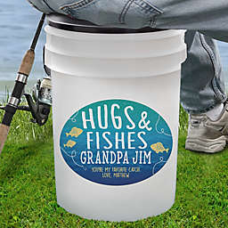 Hugs & Fishes 19 Qt. Bucket Cooler