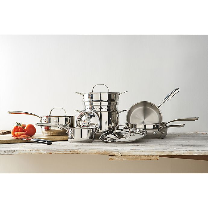 Alternate image 1 for Lagostina Luminosa Stainless Steel Cookware Collection